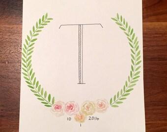 Wedding Initial Gift