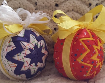 Quilted Ornaments (Item OR052)