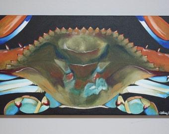 Chesapeake Blue Crab Painting
