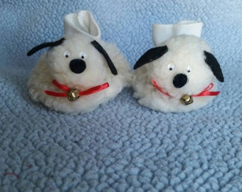 Adorable vintage baby slippers