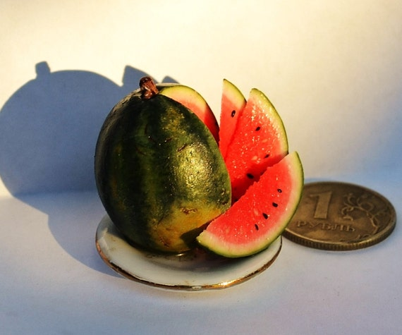 Realistic Toy Food : Dollhouse realistic food miniature