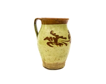 Primitive Mexican Pottery Pitcher