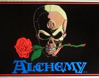 The Alchemist 23x35 Alchemy Blacklight Poster 1993