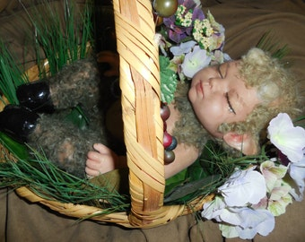 Baby Faun Fantasy/Horror Creepy Cute Reborn OOAK