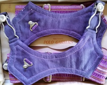 Vintage POLO Garters. Made in the USA