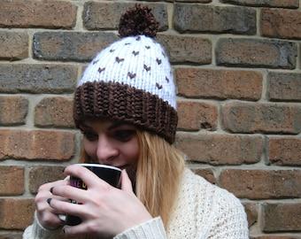 hand knit beanie - 100% handmade - **Ready to ship