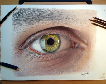 Large Eye Drawing