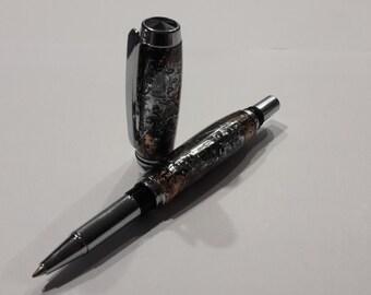 Steampunk inspired Rollerball Pen