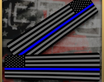 Blue Line Flag Compression Sleeves