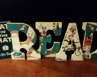 Dr Seuss Inspired Letters