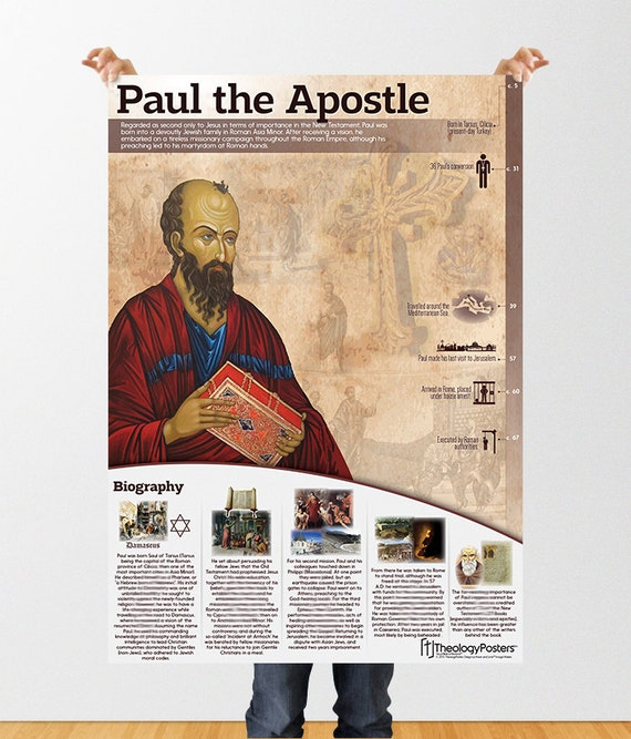 a biography of paul the apostle Was paul one of the 12 apostles no, he was not however, the new testament records that paul did interact with many of the original disciples, especially in jerusalem.