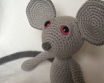 Lou the Crochet Mouse