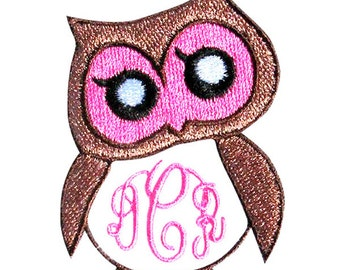 Owl Frame Embroidery Design