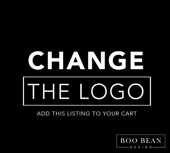 Cheap Design Changes That Have: Custom Order Logo/Picture Change