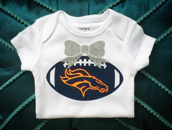 Denver Broncos onesie broncos outfit broncos baby by
