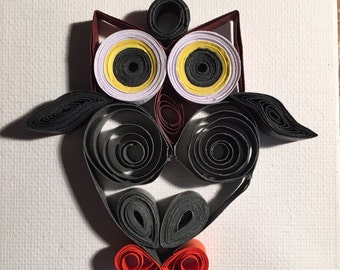 a small cute owl