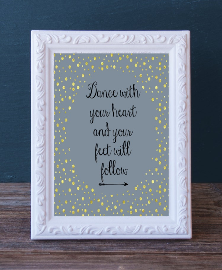 Gift For Dancer Printable Dance Recital Present By