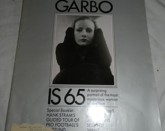Look Magazine - Sept 8, 1970 - Greta Garbo is 65 - Great ads