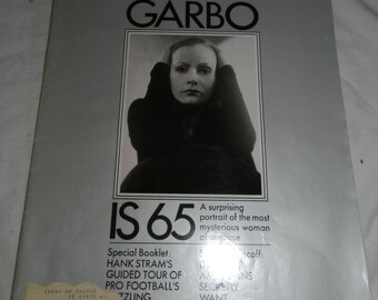Look Magazine - Sept 8, 1970 - Greta Garbo is 65 - Great Vintage ads -  Collectible Advertising - Scrap Book or Arts or Crafts supplies  E-D