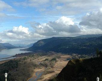 "Photograph Print ""Oregon Columbia River Gorge View"""