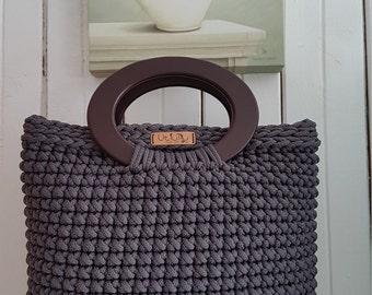 Croched handbag