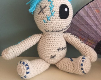 Handmade Crocheted Voodoo Doll