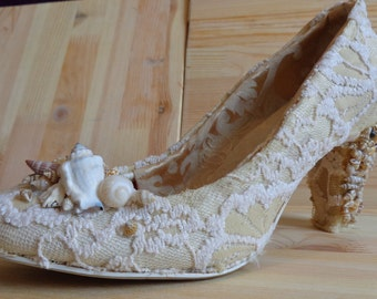 beach wedding shoes