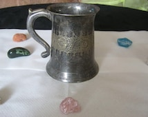 Metalkrug with ornaments, silver??, Silberhaltig, Fund State not cleaned, stamp is not known, present, ca. 1900