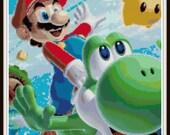 Mario Cross Stitch - Mario and Yoshi Fun - PDF Download