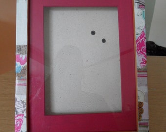 Funky Shabby Chic Picture frame