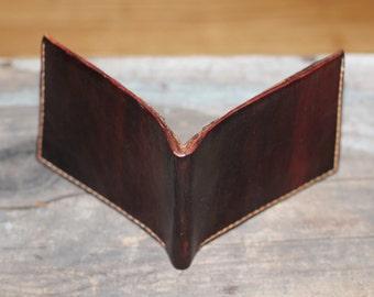 Hand Made Leather Bi-Fold