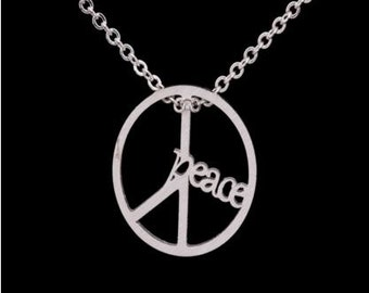 Messenger of Peace Pendant Necklace