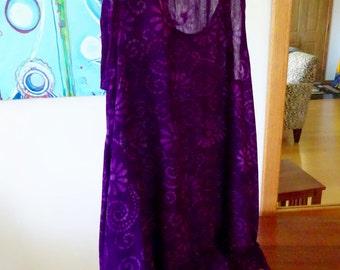 Purple Gauze Dress