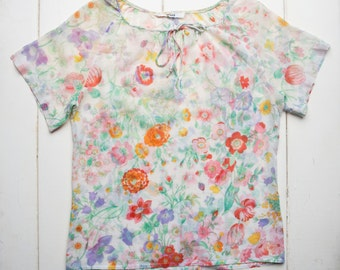 Norma Tullo Floral Top