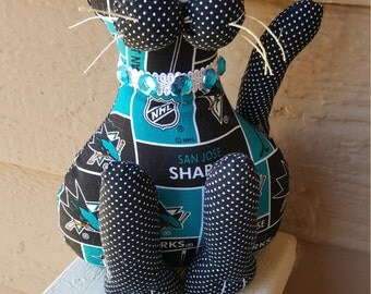 San Jose Sharks Hockey Cat