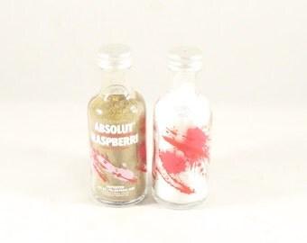 Absolut Raspberri Salt and Pepper Shakers