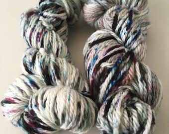 "Hand-Dyed Merino Wool-Bulky Weight ""Cosmo"""