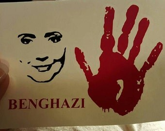 Hillary - Benghazi decal