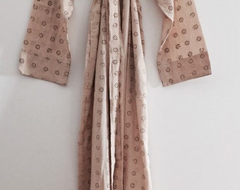 Gorgeous Cotton Robe/Dressing Gown - Sand