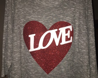 LOVE/Heart shirt