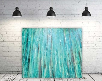 Tranquility - Abstract Painting, Modern Art, Fine Art, Home Decor, Wall Art, Painting on Canvas, Mixed Media