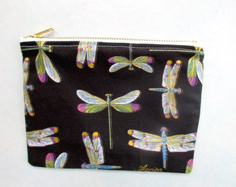 Dragonfly Makeup pouch
