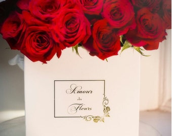 ALIX Box (16-25 Fresh roses)