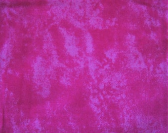 """Over 2 YDs PINK on PINK BATIK Cotton Quilting Fabric 74"""" X 44""""  Crating Holiday"""