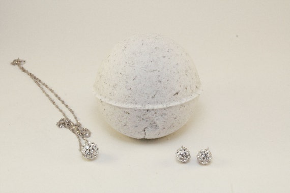bath bombs with jewelry coconut bath bomb with necklace 798