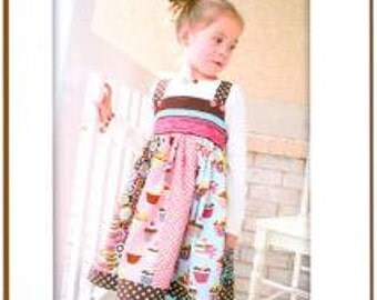 Pink Fig - The Cuppy Cake Dress - Paper sewing Pattern