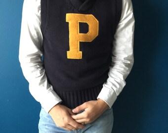 Polo p-sweater vest vintage Ralph Lauren