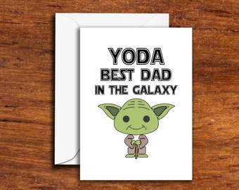 Holiday's - Father's Day - Yoda Best Dad In The Galaxy