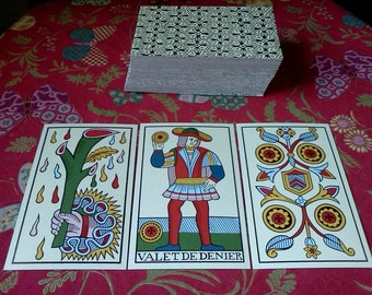 Tarot de Marseille 3 Card Reading