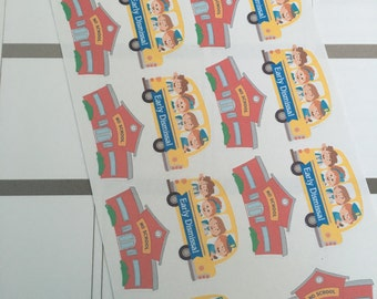 No School/Early Dismissal Planner Stickers